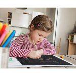 Faburo Cartes à Gratter camouflé et brillant 10pcs 19*26cm et 10pcs 10*14cm Magic Scratch Paper avec 8pcs Dessins à tableau et 2pcs Crayon en bois de la marque Faburo image 5 produit