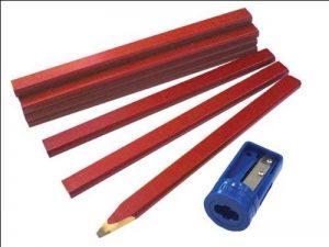 Faithfull CPR12S Tube de crayons de charpentier avec taille-crayon de la marque Faithfull image 0 produit