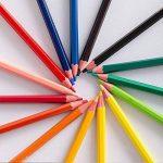 feelily 48pièces Qualité Artiste Aquarelle soluble dans l'eau de haute qualité Crayons de couleur avec Pot à crayons sans gomme, taille-crayon, & pinceau Estompeur de la marque Feelily image 3 produit