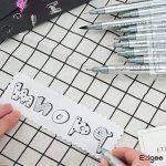 Feutres à Pointes Fines Ezigoo pour Croquis, Dessin Industriel, Design - Feutres à Encre Noire, Pointes Variées, Pack de 10 de la marque Ezigoo image 4 produit