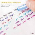 Friction Stylo Effacable 0.7 mm Tip – Pack de 6 Stylo Gomme Rechargeable Couleurs Assorties - Ezigoo de la marque Ezigoo image 2 produit