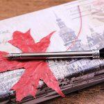 FUNRUI Rétro Plume D'Oie Stylo à Plume Calligraphie Stylo Plume Calligraphie Feather Pen Kit avec Bouteille D'Encre Vide, 6 Métal Nib de la marque FUNRUI image 3 produit
