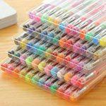 FunRun Ensemble de stylo à gel - 60 couleurs uniques, aucune en double - Stylos Fineliner 0.4mm - Encre à base d'eau - Idéal pour la calligraphie, le dessin de précision, l'écriture, le coloriage pour adulte, BD, manga de la marque FunRun image 5 produit