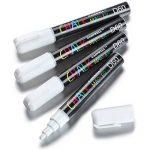 GAINWELL Marqueurs craie encre blanche 6mm – Pack de 4 de la marque GAINWELL image 2 produit