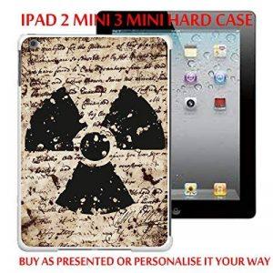 Gc23_ipd2m3m iPad mini mini 2/3 Étui pour tablette style antique Motif calligraphie personnaliser votre texte personnalisé fabriqués et vendus Par ThatVinylPlace de la marque ThatVinylPlace image 0 produit