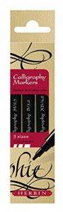 Georges Lalo Stylo de Calligraphie Feutres 3 Pointes Noir de la marque Georges Lalo image 0 produit