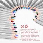 GHB Crayon de Couleur Adulte Professionnels Dessin Crayon Stylos 72 Couleurs Coloriage Crayon pour L'artiste Sketch Adulte Secret Garden Enfants Artiste Rédaction Avec 1 Graduit Pouch de la marque GHB image 2 produit