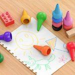 GiBot 12 Couleurs Crayola Peinture des Crayons pour enfants sûrs et non-toxiques Crayons Maquillage pour Enfants de la marque GiBot image 2 produit