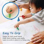 GiBot 12 Couleurs Crayola Peinture des Crayons pour enfants sûrs et non-toxiques Crayons Maquillage pour Enfants de la marque GiBot image 4 produit