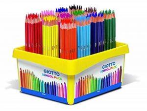 Giotto 523400 Stilnovo Schoolpack de 192 crayons Couleurs Assorties de la marque Giotto image 0 produit