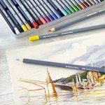 Goldfaber Aqua Crayons d'aquarelle Boîte métal de (lot de 12) Set de 24 pièces dans une boîte métallique de la marque Goldfaber image 2 produit
