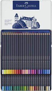 Goldfaber Couleur crayon en boîte métal Set de 48 pièces dans une boîte métallique de la marque Goldfaber image 0 produit