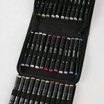 Graph'it Lot de 36 Marqueurs à alcool double pointe Basic colors de la marque GRAPH'IT image 1 produit