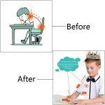 Guide Doigt Enfant, Yuccer Grips pour Crayon Ergonomique Aide Ecriture pour Enfant, Ensemble de 4 (Bleu) de la marque Yuccer image 2 produit