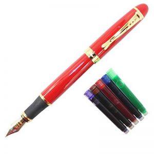 Gullor vive stylo plume rouge 450 cartouches d'encre de stylo pochette ensemble de la marque Gullor image 0 produit