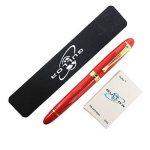 Gullor vive stylo plume rouge 450 cartouches d'encre de stylo pochette ensemble de la marque Gullor image 2 produit