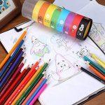 GYOYO 48 Crayons de Couleur, Art crayons, Dessin au crayon coloré Crayons d'Artiste Dessin pour fourniture des écoles des beaux-arts et livres de coloraige pour l'adulte,enfant de la marque GYOYO image 4 produit