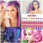 Hair Chalk, Buluri 12 Couleurs Cheveux Craie Non-toxique Cheveux Couleur Temporaire Cheveux Colorant pour les Enfants de 4 à 5 ans 6 Plus, Parfait Cadeau pour Nnniversaire, Soirée à Thème de la marque Buluri image 4 produit
