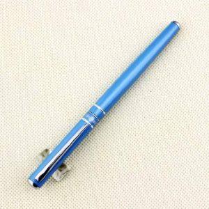 Haut de gamme Hero stylo plume plume moyenne 448 points de ciel bleu avec clip argent de la marque Gullor image 0 produit