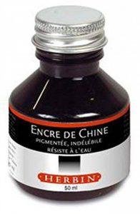 Herbin Encre de chine en 50 ml Noir de la marque J. Herbin image 0 produit