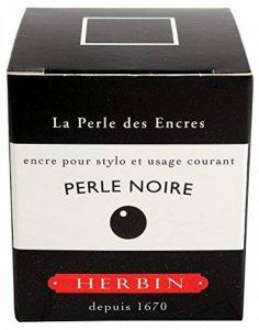 Herbin Encre de recharge traditionnelle à stylo en flacon D 30 ml Noir de la marque Exacompta image 0 produit