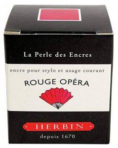 Herbin Encre traditionnelle à stylo en flaconD 30ml Rouge opéra de la marque Exacompta image 0 produit