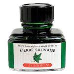 Herbin Encre traditionnelle à stylo en flaconD 30ml Lierre sauvage de la marque Exacompta image 1 produit