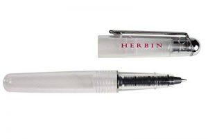 Herbin Stylo roller transparent à cartouche de la marque J. Herbin image 0 produit