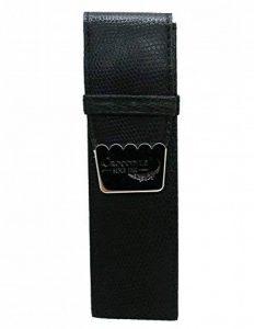 Housse en cuir double pour estilografica Stylo de calligraphie Crocodile Couleur Noir 4268 de la marque ONOGAL image 0 produit