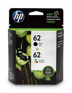 HP 62Noir et tricolore Cartouches d'encre d'origine, 2cartouches (N9h63fn) de la marque HP image 0 produit