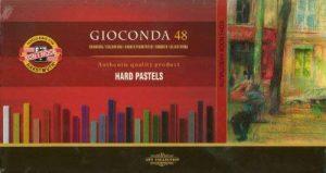 Huile de pastel sec-gamme gioconda de la marque koh-i-noor set de 48 pastels carré-rigide de la marque Gioconda image 0 produit