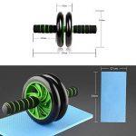 HXT AB Roller Abdominal AB Roller Roue - Roulette Musculaire Exerciseur pour Gym Fitness … de la marque Unbekannt image 1 produit