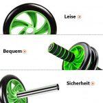HXT AB Roller Abdominal AB Roller Roue - Roulette Musculaire Exerciseur pour Gym Fitness … de la marque Unbekannt image 3 produit