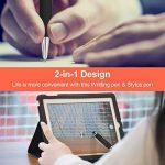 iBuger Stylus Stylet Stylo Écran Tactile + stylo à bille bic haute tactilité stylus pour Apple iPad, iPhone, iPod, Tablette, Samsung Galaxy et pour android smartphone(noir) de la marque iBuger image 3 produit