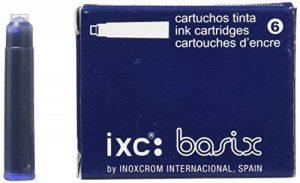 Inoxcrom 00965718–Cartouche d'encre, Lot de 6, couleur bleu de la marque Inoxcrom image 0 produit