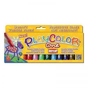 Instant - 2610731 - Playcolor - Gouache Solide en Stick - 12 couleurs - 10 g de la marque Instant image 0 produit