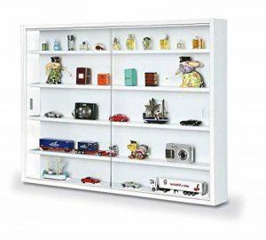 Inter Link Vitrine Murale pour Objets de Collection & Miniatures Panneaux de Particules Blanc de la marque Inter Link image 0 produit