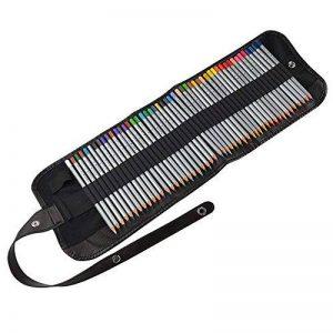 Ipow 48 Crayons de Couleur Marco Raffiné pour Dessin, Rangés dans 1 Trousse à Lanière de la marque ipow image 0 produit