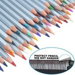Ipow 48 Crayons de Couleur Marco Raffiné pour Dessin, Rangés dans 1 Trousse à Lanière de la marque ipow image 3 produit