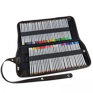 Ipow 72 Crayons de Couleur Marco Raffiné pour Dessin, 1 Trousse -2 Boucles de Différents Usages (Serrement et Accrochage) de la marque ipow image 0 produit