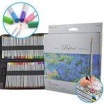 Ipow 72 Crayons de Couleur Marco Raffiné pour Dessin, 1 Trousse -2 Boucles de Différents Usages (Serrement et Accrochage) de la marque ipow image 1 produit