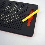 ISABELLE Les jouets pour enfants planche à dessin magnétique de billes en plastique d'une tablette de créativité joli jouet pour enfant de la marque ISABELLE image 1 produit