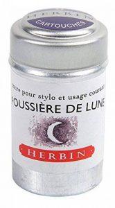 J hebrin Cartouches d'encre d'écriture–Bordeaux (Lot de 6) de la marque J Hebrin image 0 produit