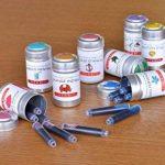 J Herbin Lot de 6 cartouches d'encre pour styloLarmes de cassis de la marque J Hebrin image 2 produit