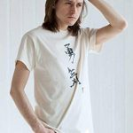 Japonais-Shirt Yuki Courage/T-Shirt Motif calligraphie japonaise-Couleur : Ivoire de la marque Strand Clothing image 1 produit