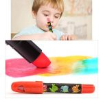 Jar Melo Crayons Soyeux-12 Couleurs Rotatives Lavables Non Toxiques Effet 3 En 1 (Crayon-Pastel-Aquarelle) de la marque Jar Melo image 1 produit