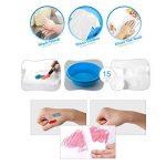 Jar Melo Crayons Soyeux-12 Couleurs Rotatives Lavables Non Toxiques Effet 3 En 1 (Crayon-Pastel-Aquarelle) de la marque Jar Melo image 3 produit