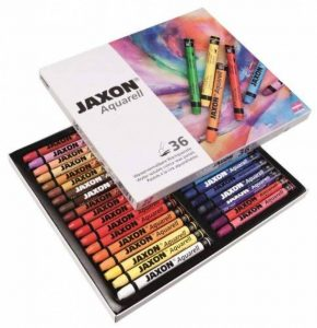 Jaxon - Lot de 36 Craies aquarellables de la marque Jaxon image 0 produit