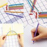 JTDEAL Crayon à Papier Flexible, 30Pcs Crayons de Couleur Pliable Souples 18cm avec Gomme pour Enfant Cadeau École de la marque JTDEAL image 1 produit