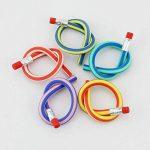 JTDEAL Crayon à Papier Flexible, 30Pcs Crayons de Couleur Pliable Souples 18cm avec Gomme pour Enfant Cadeau École de la marque JTDEAL image 3 produit